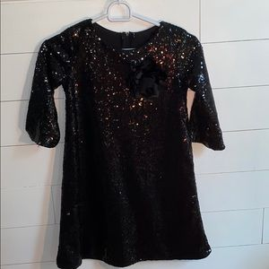 Kid's Dream black sequence dress